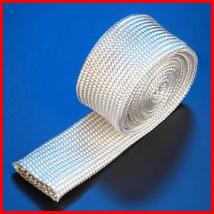 Fiberglass Braided Sleeve Premium Grade Wire Cable Hose Protection