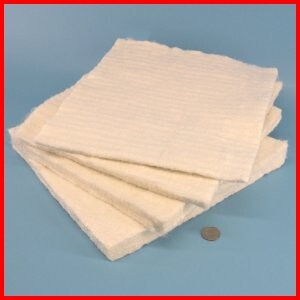 fiberglass needled insulation high temperature heat resistant