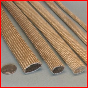 Fiberglass Braided Acrylic Saturated Sleeve Premium Grade Wire Cable Hose Protection