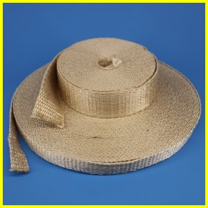 Silica Woven Gasket Tape High Temperature Heat Flame Fire Resistant