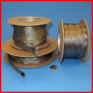 Stainless Steel Braid Sleeve Wire Cable Protection