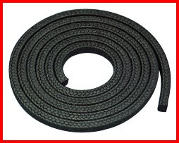 Fiberglass Rope with Graphite Coating High Temperature Heat Resistant