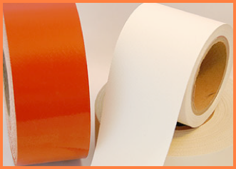 silicone rubber coated fiberglass slit tape