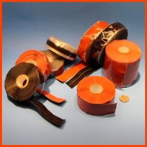silicone rubber end wrap electrical tape