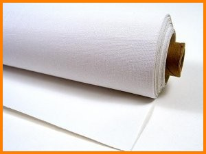tacky cloth white rubber coated fiberglass fabric gasket seal high temperature heat resistant
